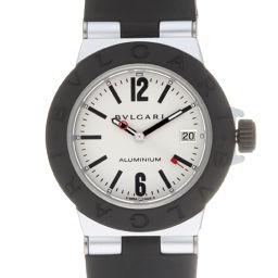 BVLGARI ブルガリ AL29TA アルミニウム ラバー×アルミニウム レディース 腕時計 DH58032【中古】ABランク
