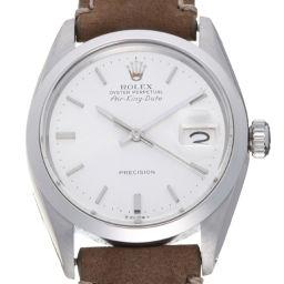 ROLEX ロレックス 5700 エアキング デイト 13番台 1965年製 ステンレススチール×レザー メンズ 腕時計 DH58239【中古】Aランク