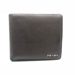 PRADA プラダ 小物×サフィアーノレザー メンズ 二つ折り財布 DH58356【中古】BCランク
