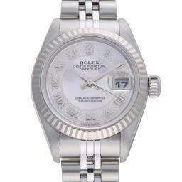 ROLEX ロレックス 79174NRD デイトジャスト A番 1999年製 ステンレススチール×K18ホワイトゴールド レディース 腕時計 DH58644【中古】Aランク