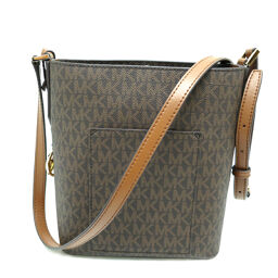 Michael Kors Michael Kors 35F8GKFMIV PVC x Leather Ladies Shoulder Bag DH59052 [Used] S Rank