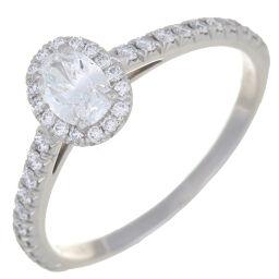 TIFFANY&Co. ティファニー ソレスト 0.29ct ダイヤモンド Pt950プラチナ 11号 レディース リング・指輪 DH59087【中古】Aランク