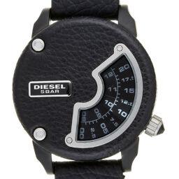 DIESEL ディーゼル DZ-7353 ウォッチ ステンレススチール×レザー メンズ 腕時計 DH59090【中古】Aランク