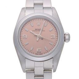 ROLEX ロレックス 76080 オイスターパーペチュアル A番 1999年製 ステンレススチール レディース 腕時計 DH59284【中古】Aランク