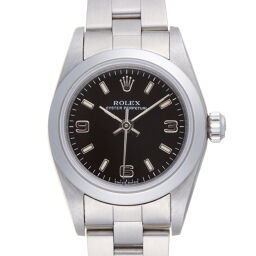 ROLEX Rolex 76080 Oyster Perpetual K No. 2001 Stainless Steel Ladies Watch DH59485 [Used] A rank