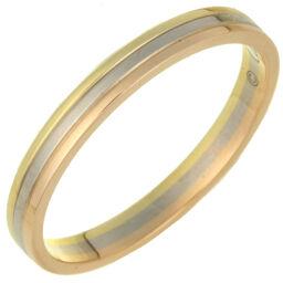 CARTIER カルティエ B4209900 トリニティ ウェディング #57 750ピンクゴールド×750イエローゴールド×750ホワイトゴールド 17号 レディース・メンズ リング・指輪 DH59504【中古】Aランク