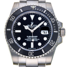 ROLEX Rolex 116610LN Submariner Date Random Number Stainless Steel x Ceramic Men's Watch DH59559 [Used] A rank
