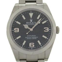 ROLEX ロレックス 214270 エクスプローラーI ランダム番 ステンレススチール メンズ 腕時計 DH59571【中古】Aランク