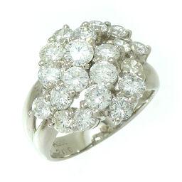 Non Brand ノンブランド PT900 ダイヤモンド 2.00ct Pt900プラチナ 11号 レディース リング・指輪 DH59621【中古】Aランク