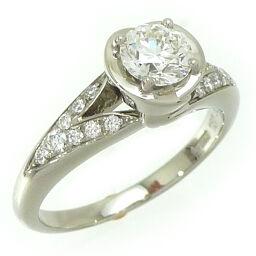 BVLGARI ブルガリ インコントロ ダモーレ ダイヤモンド Pt950プラチナ 5号 レディース リング・指輪 DH59624【中古】Aランク