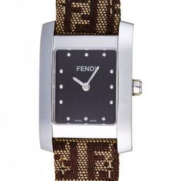FENDI フェンディ 7000L クラシコ ステンレススチール×ファブリック レディース 腕時計 DH59941【中古】Aランク