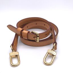 LOUIS VUITTON Louis Vuitton Strap Nume Leather Women's Men's Shoulder Strap DH60023 [Used] AB Rank