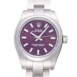 ROLEX ロレックス 176200 オイスターパーペチュアル ランダム番 ステンレススチール レディース 腕時計 DH60036【中古】Aランク