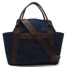 HERMES Hermes sacked pansage C engraved 2018 made ladies tote bag DH60190 [used] A rank