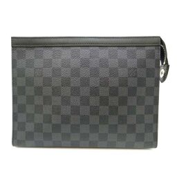 LOUIS VUITTON Louis Vuitton N41696 Pochette Voyage MM Damier Graffiti Canvas Men's Second Bag DH60208 [Used] A rank