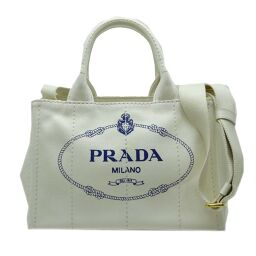 PRADA Prada 1BG439 Kanapat Tote Denim Ladies Tote Bag DH60215 [Used] A rank