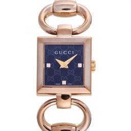 GUCCI グッチ YA120521 (120) トルナヴォーニ ステンレススチール レディース 腕時計 DH60244【中古】Aランク