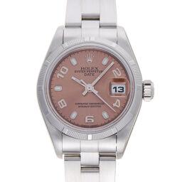 ROLEX ロレックス 79190 オイスターパーペチュアル デイト A番 1999年製 ステンレススチール レディース 腕時計 DH60293【中古】ABランク