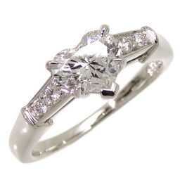HARRY WINSTON Harry Winston Heart Shape Trist 0.74ct Pt950 Platinum No. 11 Ladies Ring / Ring DH60299 [Used] A rank