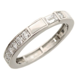 HARRY WINSTON Harry Winston Traffic Accent Band 0.21ct Pt950 Platinum No. 8 Ladies Ring / Ring DH60302 [Used] A rank