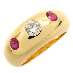 CARTIER Cartier Daphne # 50 750 Yellow Gold No. 10 Ladies Ring / Ring DH60303 [Used] A rank