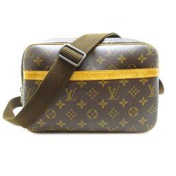 LOUIS VUITTON Louis Vuitton M45254 (Discontinued) Reporter PM Monogram Canvas Ladies Shoulder Bag DH60383 [Used]