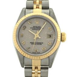 ROLEX ロレックス 69173 デイトジャスト T番 1996年製 ステンレススチール×K18イエローゴールド レディース 腕時計 DH60433【中古】ABランク