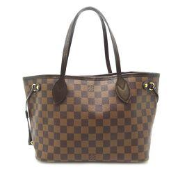 LOUIS VUITTON Louis Vuitton N41359 Neverfull PM * Pouch shortage Damier canvas ladies tote bag DH60459 [Used] A rank