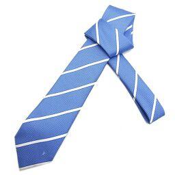 LOUIS VUITTON Louis Vuitton M73248 (Discontinued) Cravat Modern Striped Tie Silk x 100% Silk Men's Tie DH60460 [Used] A rank