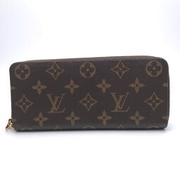 LOUIS VUITTON Louis Vuitton M60742 Portofeuil Clemence Monogram Canvas Ladies Long Wallet DH60742 [Used] A rank