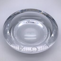 BVLGARI Bvlgari Ashtray x Crystal Glass Men's Other Accessories DH60757 [Used] AB Rank