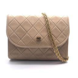 CHANEL Mini Matrasse Chain Pochette Calf Women's Shoulder Bag DH60764 [Used]