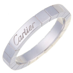 CARTIER Cartier B4045000 Lanier # 53 750 White Gold No. 13 Ladies Ring / Ring DH60948 [Used] A rank