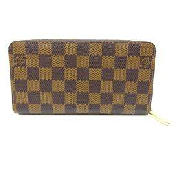 LOUIS VUITTON Louis Vuitton M41661 Zippy Wallet Damier Canvas Women's Men's Wallet DH61025 [Used] AB Rank