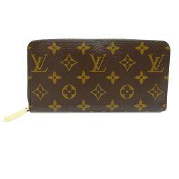 LOUIS VUITTON Louis Vuitton M42616 Zippy Wallet Monogram Canvas Women's Men's Wallet DH61026 [Used] AB Rank