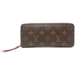 LOUIS VUITTON Louis Vuitton M60742 Portofeuil Clemence Monogram Canvas Women's Wallet DH61029 [Used]