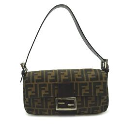 FENDI FENDI 2321.26424.099 Mamma bucket canvas ladies shoulder bag DH61054 [used] AB rank