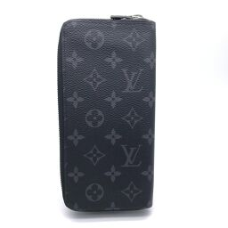 LOUIS VUITTON Louis Vuitton M62295 Zippy Wallet Vertical x Monogram Canvas Men's Wallet DH61097 [Used] SA Rank