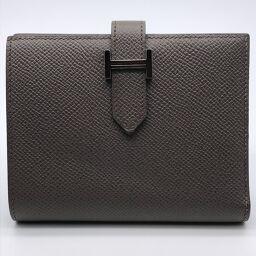 HERMES Hermes Bearn Compact Vaux Epson Ladies Bi-Fold Wallet DH61121 [Used] AB Rank