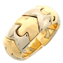 BVLGARI Bvlgari 750YG Albeare 750 Yellow Gold x Stainless Steel No. 11 Ladies Ring / Ring DH61179 [Used] A rank