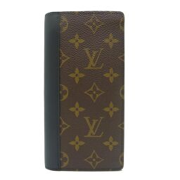 LOUIS VUITTON Louis Vuitton M69410 Macassar Brother Monogram Macassar Men's Bi-Fold Wallet DH61217 [Used] A rank