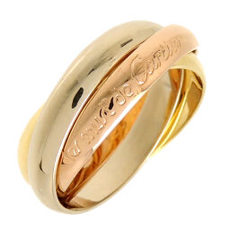 CARTIER Cartier * Serial number unknown # 53 750 Three-color gold Trinity 750 Yellow gold x 750 Pink gold x 750 White gold No. 13 Ladies' ring / ring DH61246 [Used] A rank