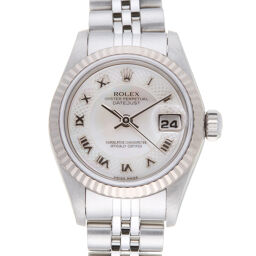 ROLEX Rolex 79174NRD Datejust Y No. 2003 Stainless Steel x K18 White Gold Ladies Watch DH61460 [Used] A rank