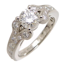 CARTIER Cartier Pt950 # 48 0.61ct Ballerina Solitaire Pt950 Platinum No. 8 Ladies Ring / Ring DH61759 [Used] A rank