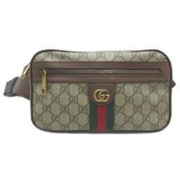 GUCCI Gucci 574796 Offidia Belt Bag GG Supreme Canvas Women's Men's Waist Bag DH61816 [Used] AB Rank