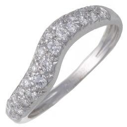 Van Cleef & Arpels Van Cleef & Arpels Diamond 750 White Gold No. 10 Ladies Ring / Ring DH61904 [Used] A rank