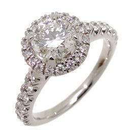 CARTIER Cartier Pt950 # 48 0.70ct Destine Solitaire Diamond Pt950 Platinum No. 8 Ladies Ring / Ring DH61928 [Used] A rank