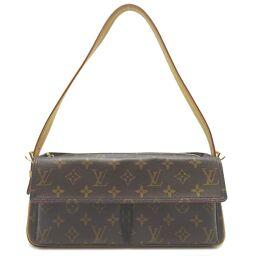 LOUIS VUITTON Louis Vuitton M51164 (discontinued) Vivasite MM Monogram Canvas Ladies Shoulder Bag DH61946 [Used] AB Rank