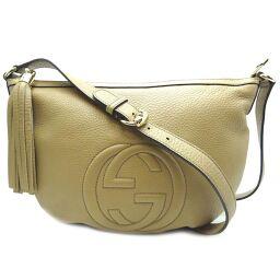 GUCCI Gucci 308361 Soho Shoulder Bag Leather Ladies Shoulder Bag DH61968 [Used] A rank