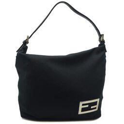FENDI FENDI 2305.26637.009 One Shoulder Canvas x Leather Women's Shoulder Bag DH62020 [Used]